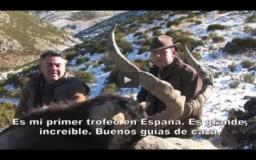 CAZA DEL JABALÍ CON ARCO, TIRADAS DE PATOS, RECECHANDO AL MACHO MONTES  (03/03/13)